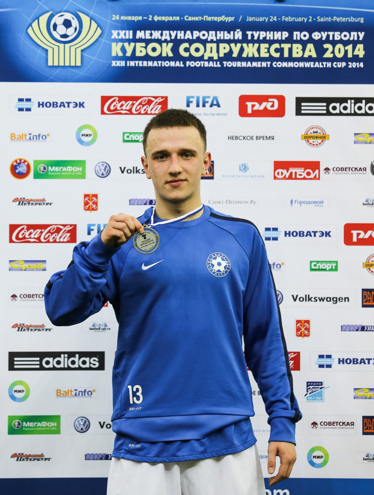 Gussev, man of the match for Estonia (Com-cup.com)
