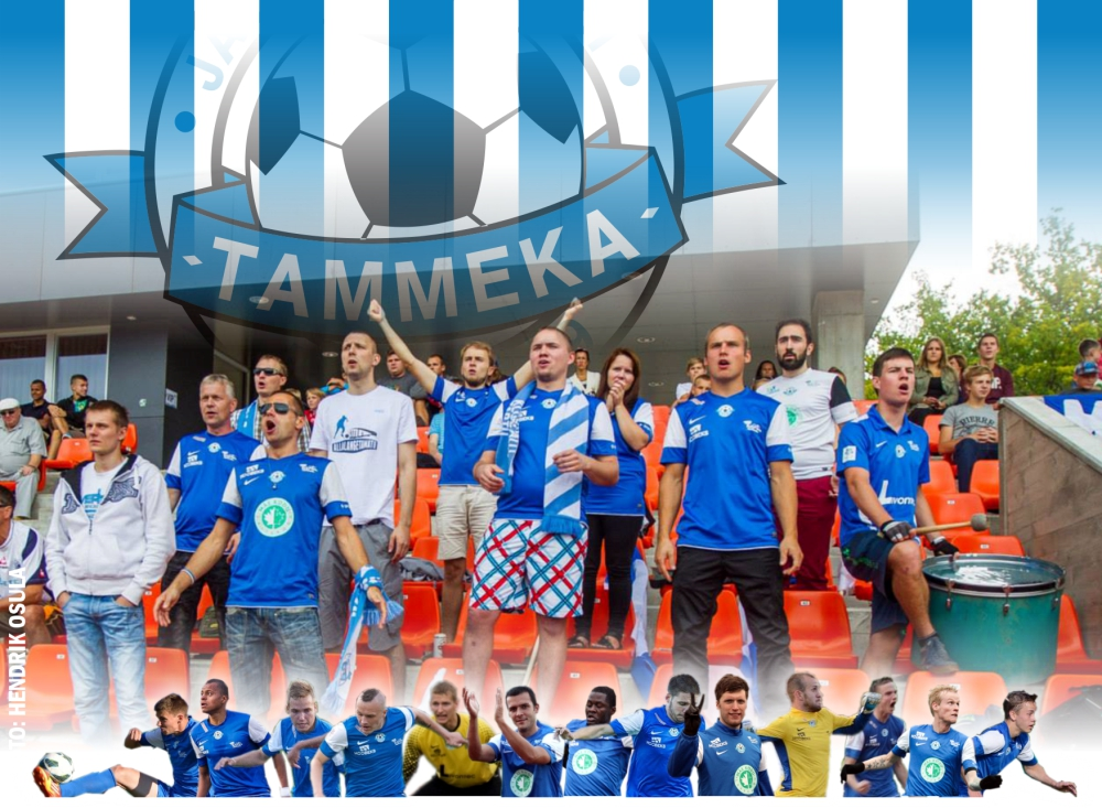 """Yes, we are Tammeka, with little experience in Premium Liiga. We have even lesser money and we need supporters like air to breathe. However, that's why we have a super attendance!"" Uwe predicts Tammeka's fans home games record (6.8.2013)"