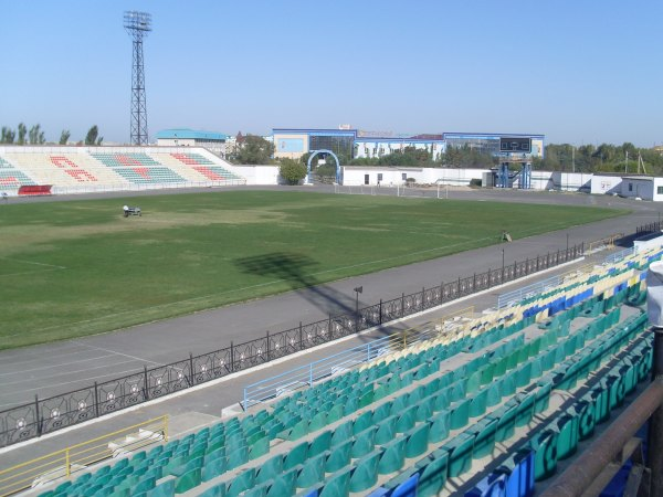 Gany Muratbayev Stadium, the new home of Rimo Hunt in Kazakhstan - click to enlarge (Soccerway)