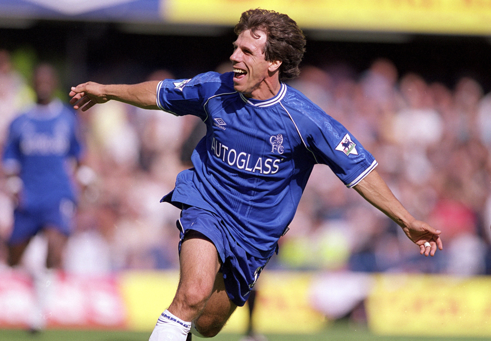 Gianfranco Zola, the 'Magic Box' of Stamford Bridge, was the best player according to Mikael Forssell (carefree-cfc.blogspot.com)