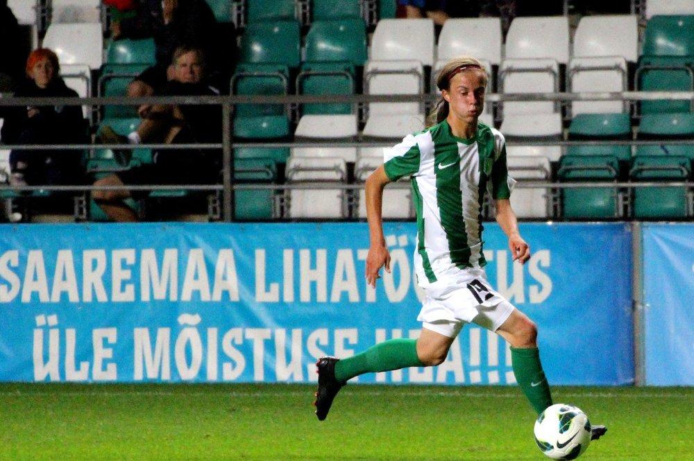 Herol Riiberg, one of the young debutants of last season (FCFlora.ee)
