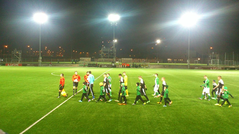XI's enter the pitch  (Deni Delev - RdS)