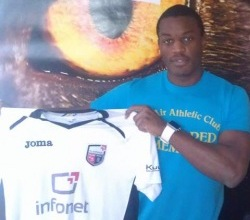Kassim Aidara, moved from Sillamäe to Infonet: 17 goals in 34 matches for the French attacking midfielder last season. Infonet aims at the final in May (fcinfonet.com)