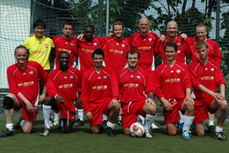Tancredi Palmeri when he was in Riga United - third from right, bottom line - click to enlarge