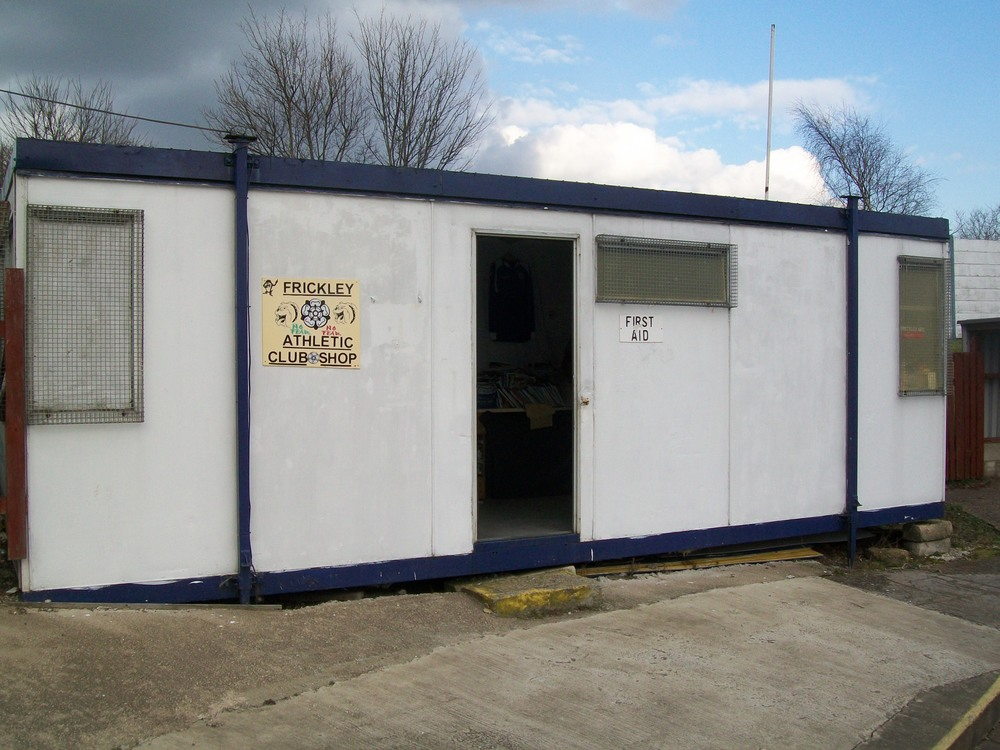 The Frickley Athletic Club Shop