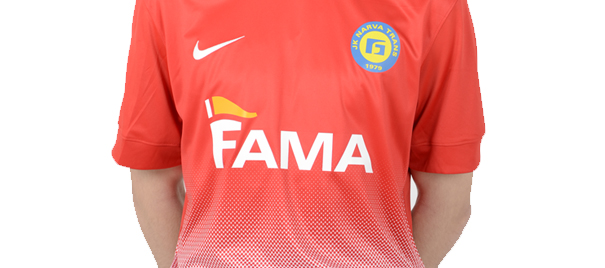 6. Nice jersey, however same thing as Sillamäe: why not using the yellow and blue in the crest? (fctrans.ee)
