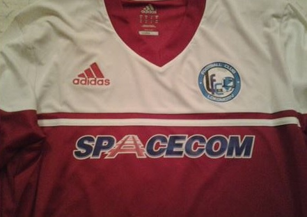 5. It's a nice jersey, however red is not the predominant colour of the crest (Facebook)
