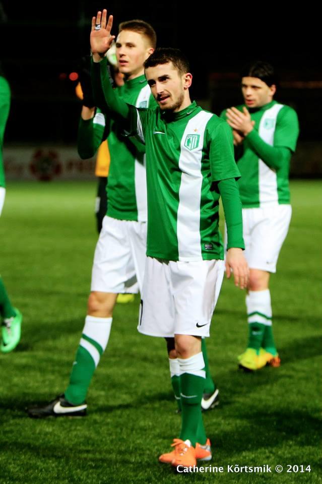 Another great night for Zaxara Beglarashvili, three goals in four appearances (fcflora.ee/Catherine Kõrtsmik)