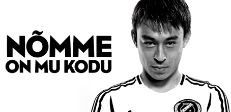 'The Japanese wizard' has set his home to Nõmme also for this season (Nõmme Kalju website)
