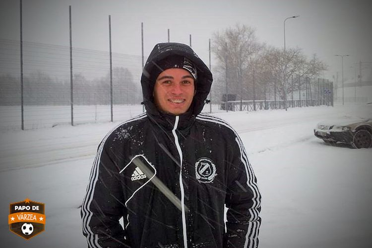Fabio tested immediately what the weather could be like in the Estonian capital (Papo de Varzea)