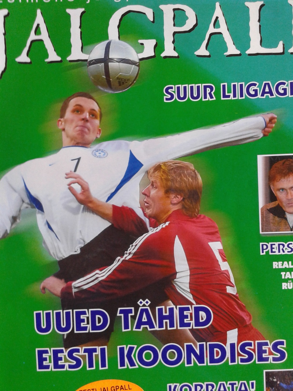 'Eesti Jalgpalli 2005' it costed 40 Estonian Kroons (about 2.60€)