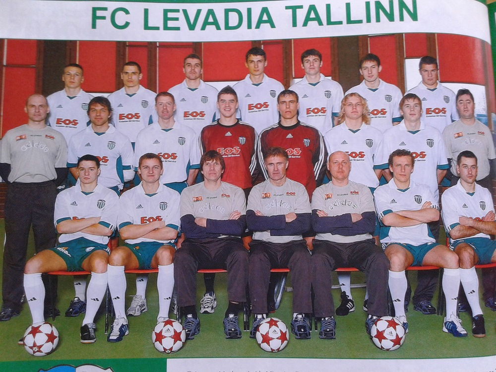 The defending Champions, Levadia, led by Rüütli