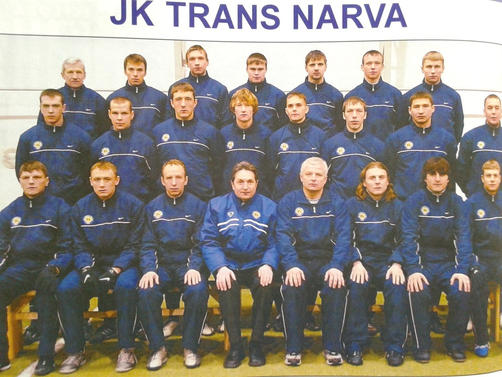 Valeri Bondarenko must have coached Narva Trans since birth