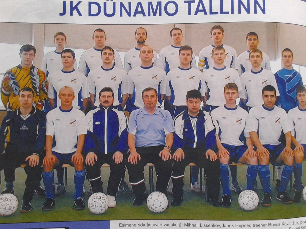 A legendary club from the Soviet times (10 times Estonian SSR Champions) now in 4th tier, Dünamo Tallinn