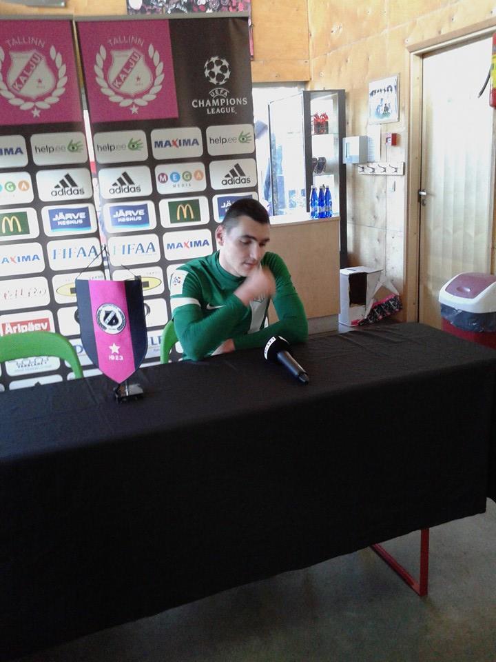 Prosa, MOTM for Flora in press conference