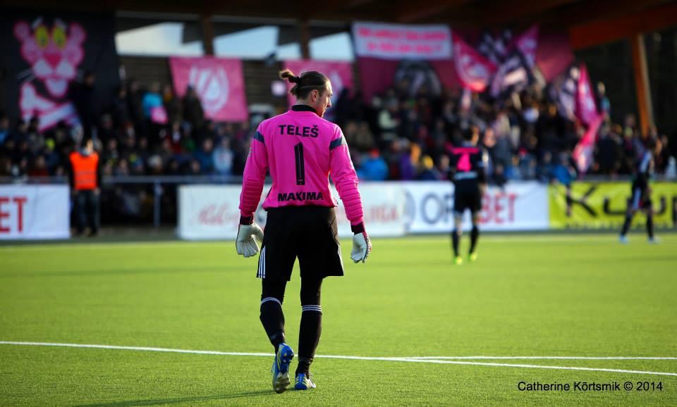Teles, great protagonist of our Best XI (Catherine Kõrtsmik/FC Flora)
