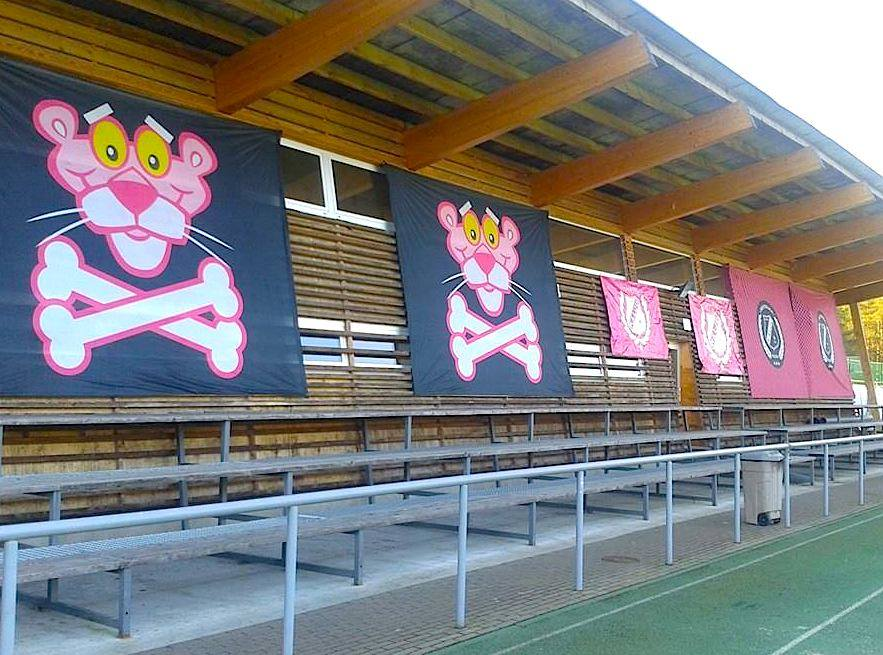 All is ready at Hiiu to stage the second derby clash in a row in Nõmme (Nõmme Kalju Facebook)