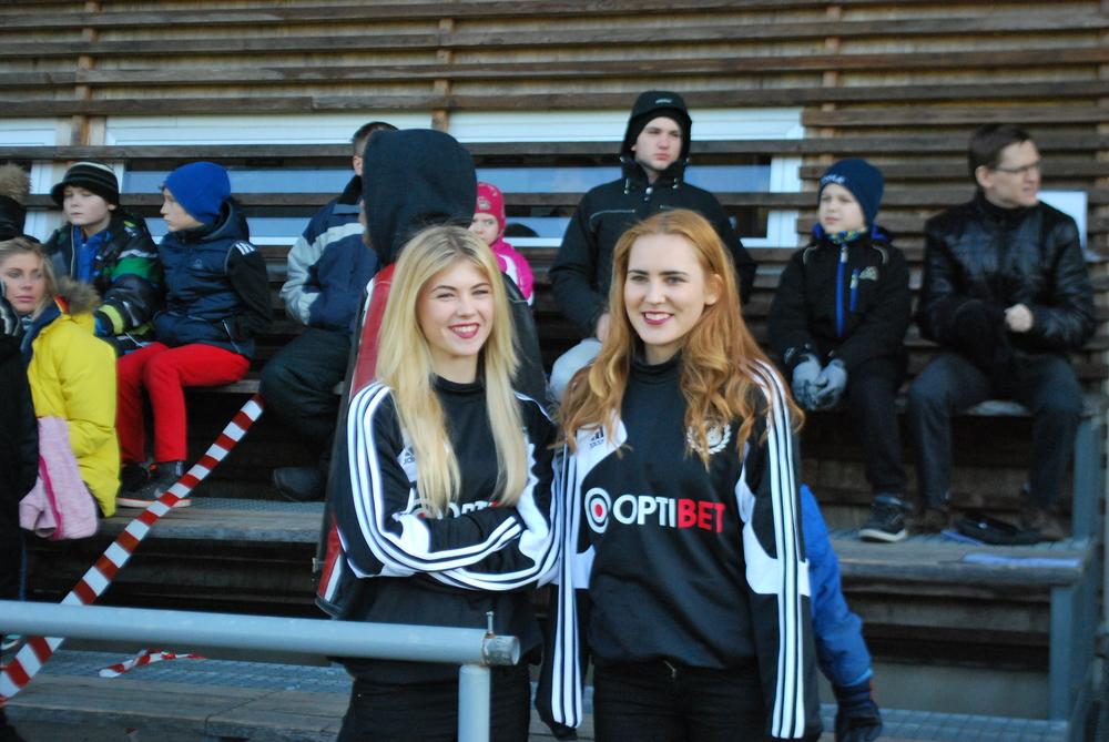 Two charming members of the Kalju Dance Team