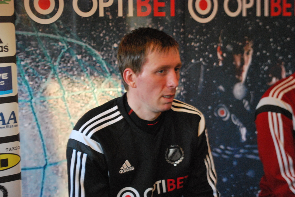 'It is hard against Levadia's defence'