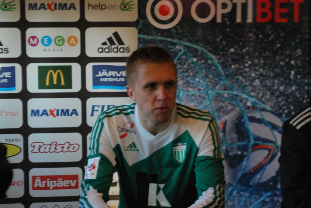 'Nothing surprising from Kalju as they played long balls forward to Neemelo'