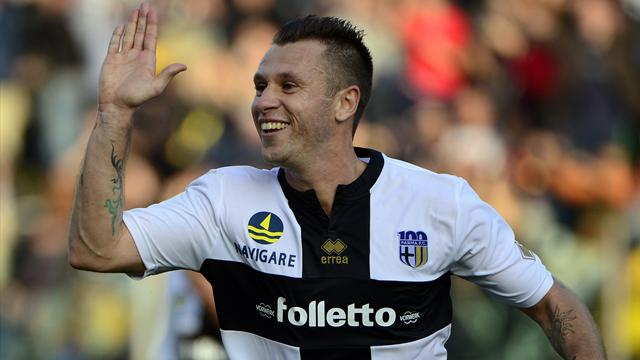 The lucky winner will watch Cassano live at 'Stadio Ennio Tardini', home venue of FC Parma (internet)