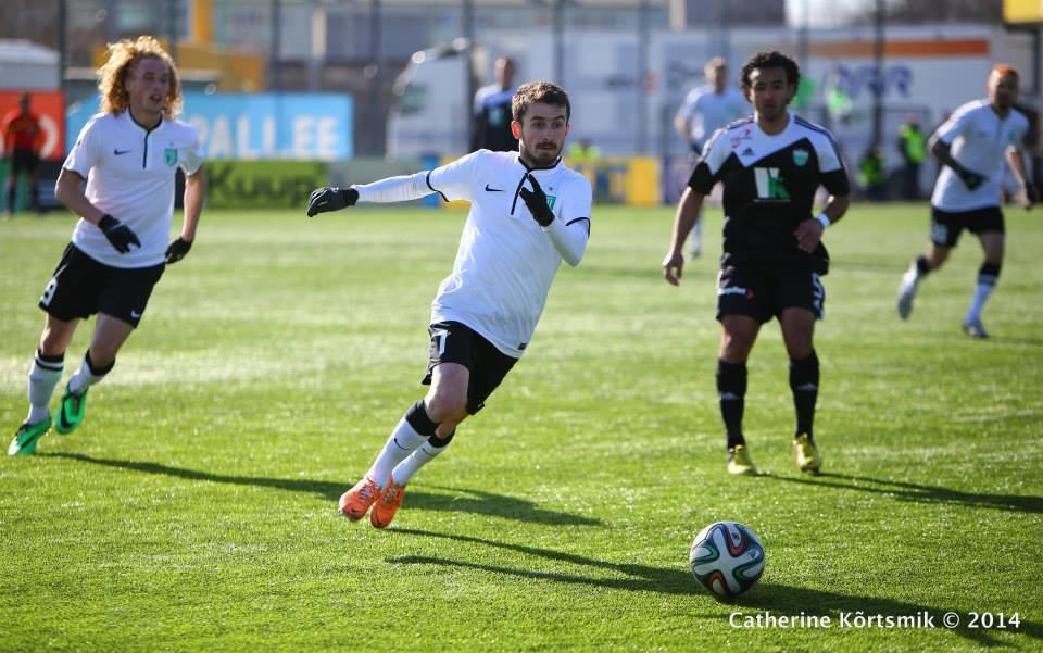 Zakaria Beglarashvili in action Foto: Catherine Kõrtsmik