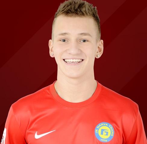 Skinjov, 18-year-old striker, scored 3 goals in 21 appearances in Premium Liiga last season (fctrans.ee)