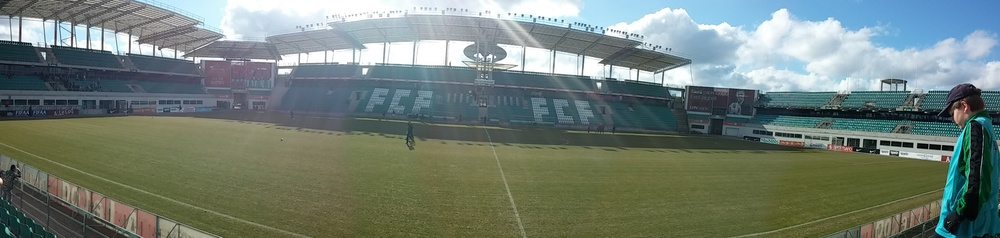 A. Le Coq Arena in a good shape (foto: RdS)