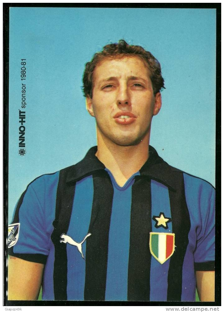 Proud Franco with 1979-80 Scudetto on his chest at Internazionale