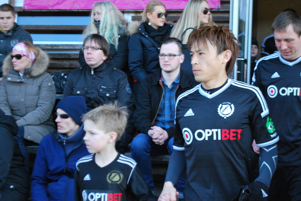Hidetoshi Wakui had a great performance in Sillamäe and scored his 8th goal against the rivals (RdS)