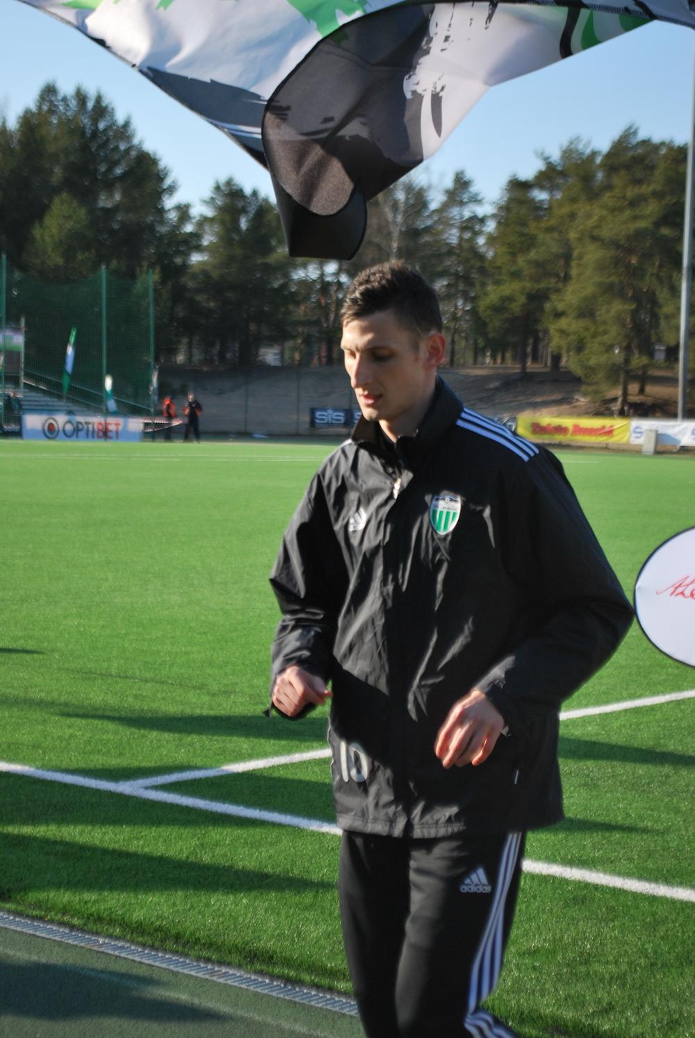 Igor Subbotin, 4 goals this season including the brace against Loko (RdS)