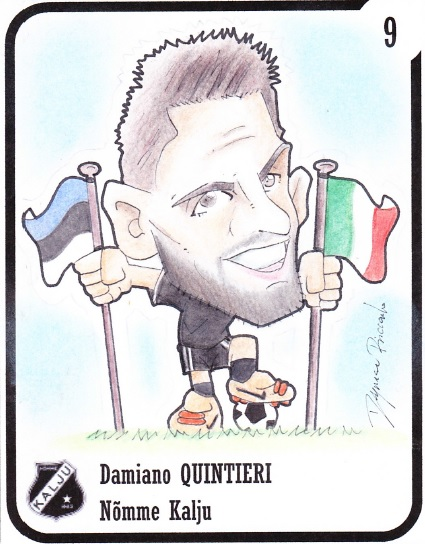 Damiano as seen by our cartoonist, Riccardo D'Agnese