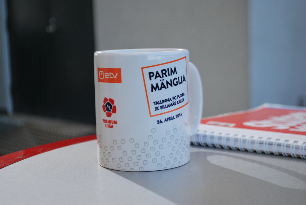 A mug is assigned by Premium Liiga broadcaster (ETV) to the MOTM