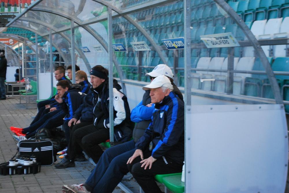 Sillamäe's 'new' coach, Vadim Dobiza: he won USSR title with Zorja Luhanks