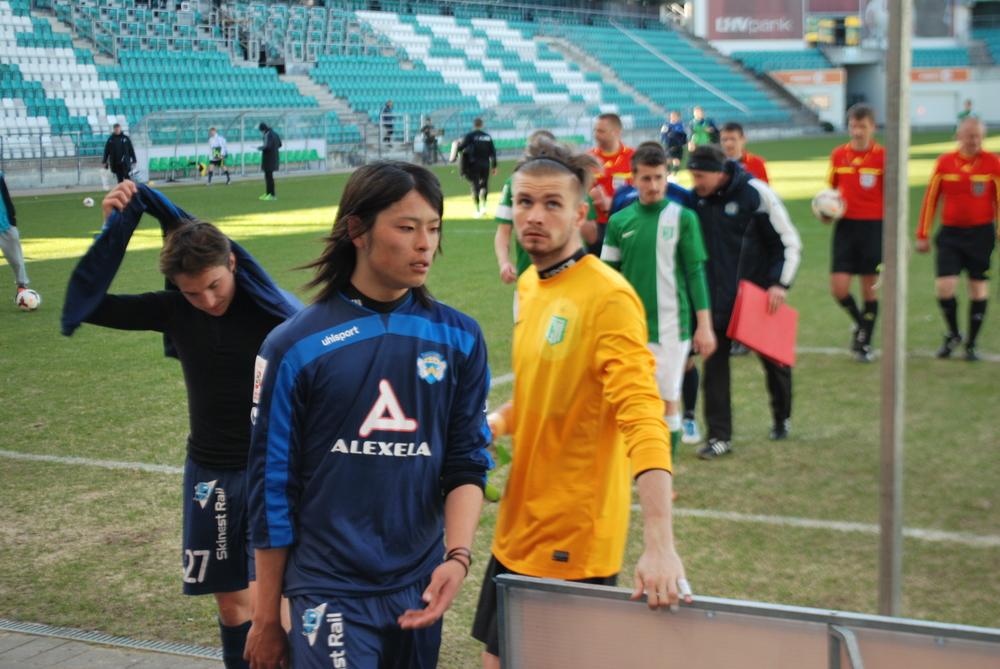 Hiroki Maehara, good game until he let Prosa score