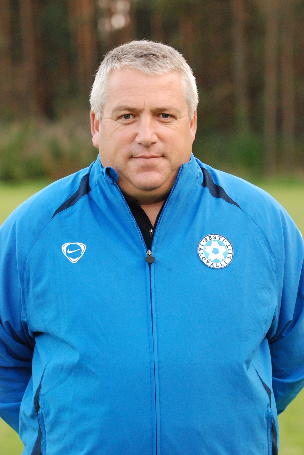 Keith Boanas has played a big hand in developing women's football in Estonia in his role as the national team head coach Photo: jalgpall.ee
