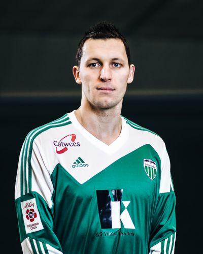 Teever grabbed Levadia's second goal, injuring himself in the process Photo: fclevadia.ee