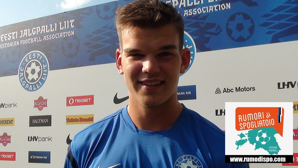 Great debut for Frank Liivak in the Estonian National team