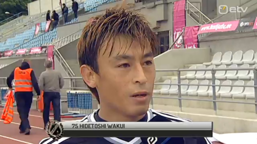 Wakui, MOTM for public broadcaster, ETV (ETV streaming outtake)