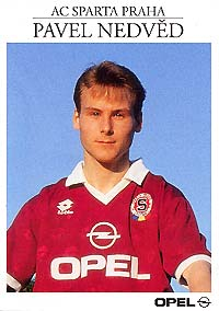 A young Nedved at Sparta