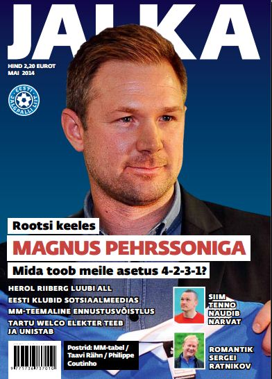 An interview to the Swedish coach appeared in the FA magazine 'Jalka' in May (www.jalgpall.ee)