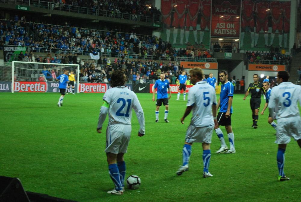 Pirlo oli Itaalia kapten kui 'Azzurri' külastas Lillekülas 2010 aastal (photo: Angelo Palmeri)