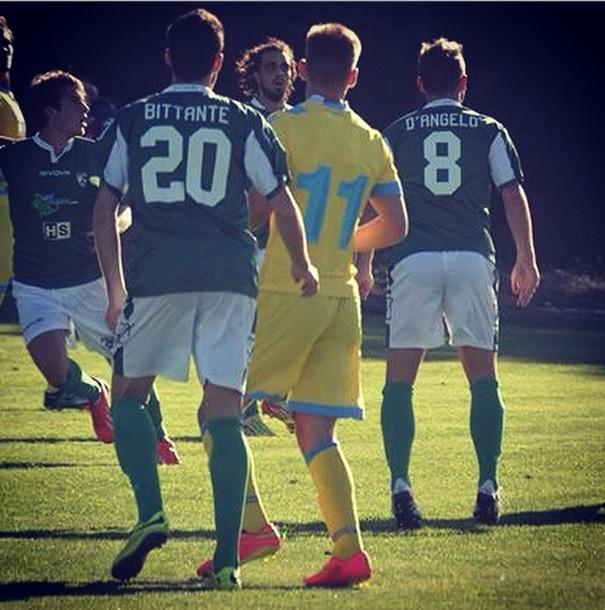 Liivak in action against Avellino (Instagram)