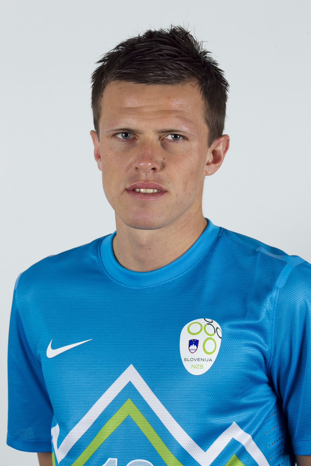 Fiorentina's Ilicic, is one of the prominent stars of the Slovenian side (NZS)