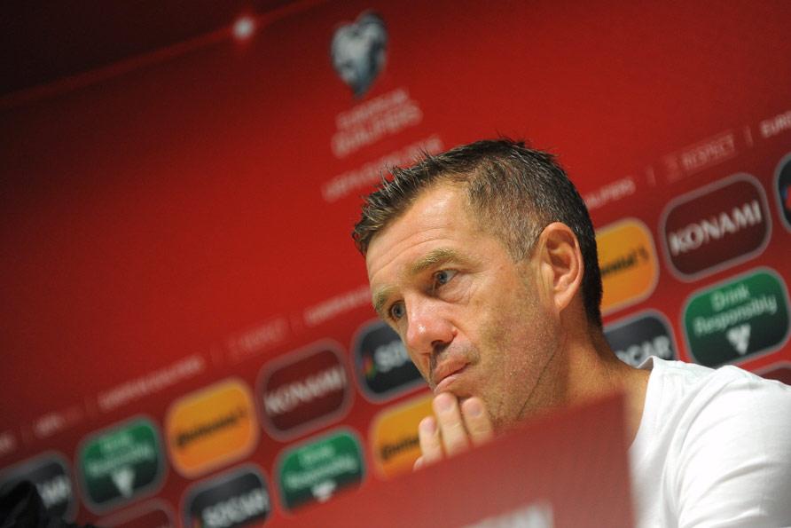 Slovenian national team coach Srecko Katanec (foto: Ekipa)