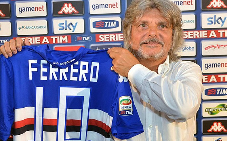The colourful interviews of Massimo Ferrero will give spice to the post-match pressers