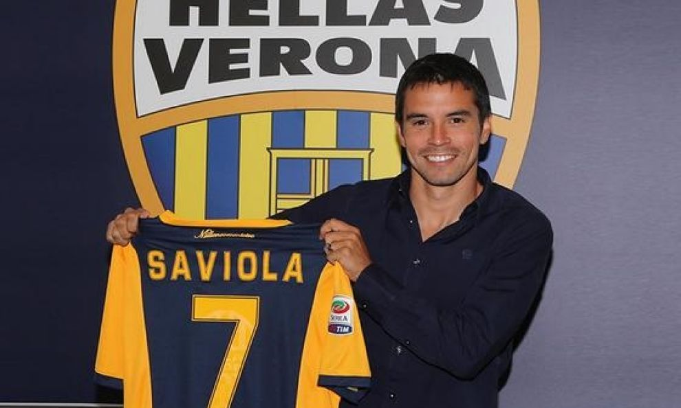 'I swear god, it's Hellas, not Boca' says former River Plate Saviola