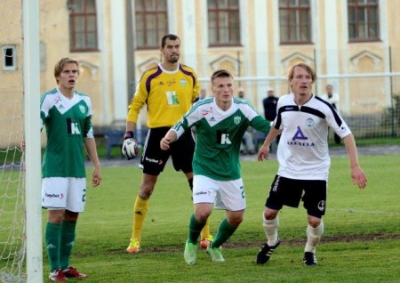 Kruglov's goal proved to be the difference between the sides (fclevadia.ee)