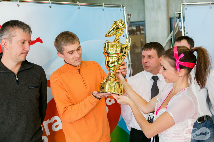 JK Tondi are being handled the cup by gentle hands back in 2013