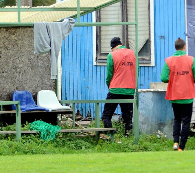 The facilities at Jõhvi City Stadium are not taken seriously (www.sportiv.ee)